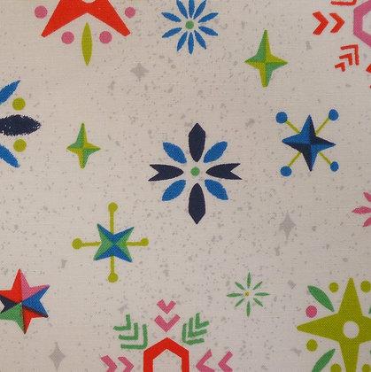 Fabric :: Way Up North :: Snowflakes :: Multi
