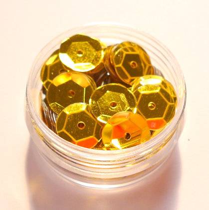 10mm Sequins :: Yellow