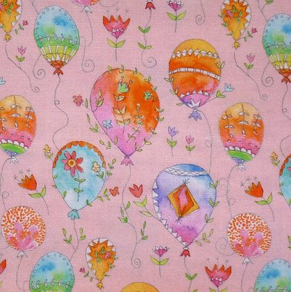 Fabric :: Waltz of Whimsy :: Pink Pixie Balloons