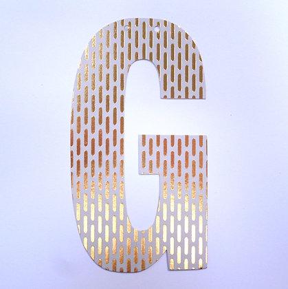 Make A Garland :: Letter :: G