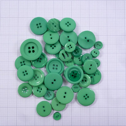 Dyed Buttons By Weight :: Apple