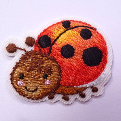 Embroidered Motif :: Cute Insects :: Ladybird