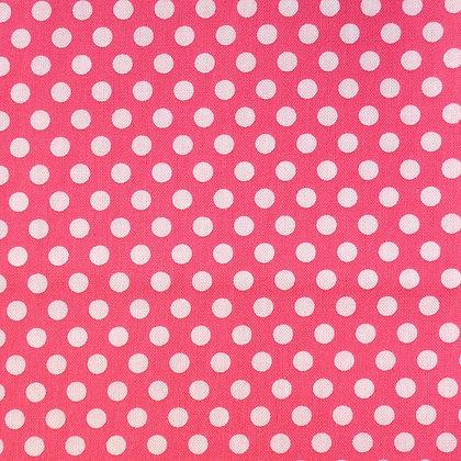 Fabric :: Kiss Dot :: Pink