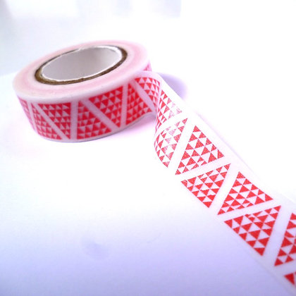 Christmas Washi Tape :: White & Triangle Trees