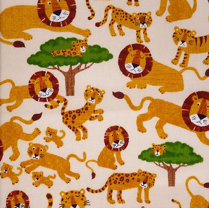 Fabric :: Lions & Tigers