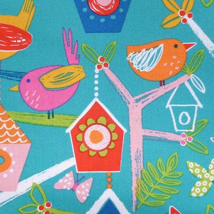 Fabric :: Secret Garden :: Bird Houses