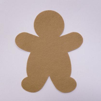 Die Cut :: Gingerbread Man :: Biscuit