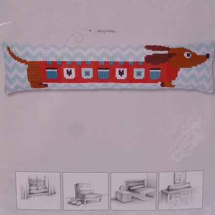 Printed Canvas Draught Excluder Kit :: Dachshund