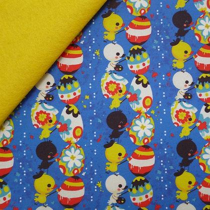 Artisan Fabric Felt :: Easter Egg Painters on Banana