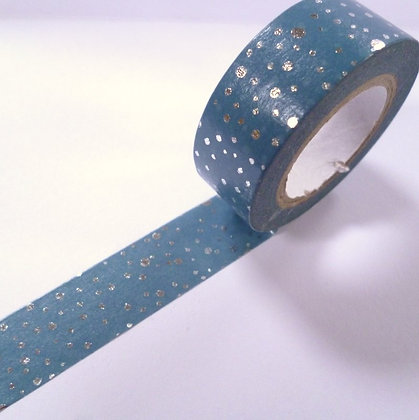 Washi Tape Roll :: Snow Flurry Dots