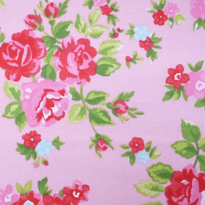Fabric :: Wide :: Chintz Roses on Pink