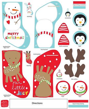 Fabric :: Holiday Stocking :: Printed Panel