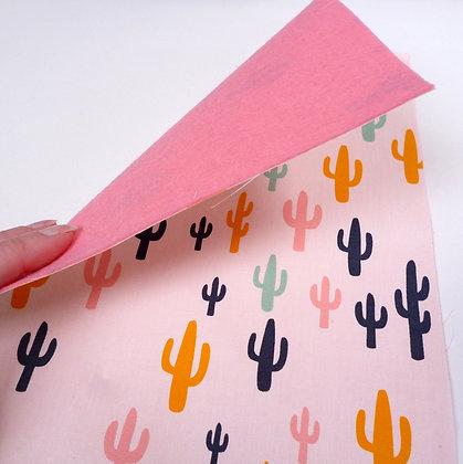 Fabric Felt :: Cactus & Pink
