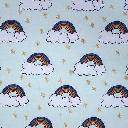 Fabric :: Wide Rainbow :: Rainbows & Clouds