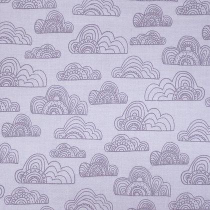 Fabric :: Jungle Fever :: Clouds Grey