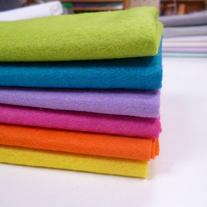 Premium Wool Felt Colour Pack :: Neon Lights II