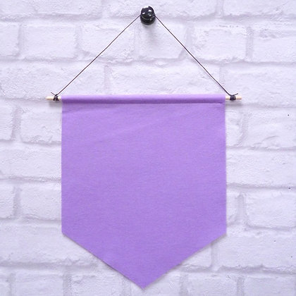 Lilac :: Handmade banner for you to decorate
