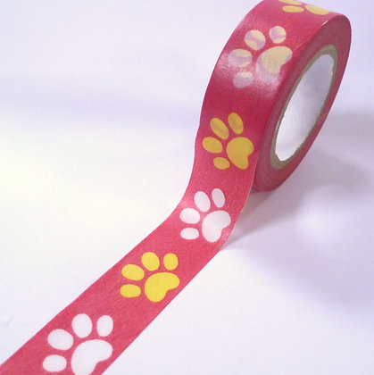 Washi Tape roll :: Paws