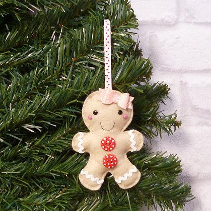 Miss Gingerbread :: Scandinavian Christmas :: made to order