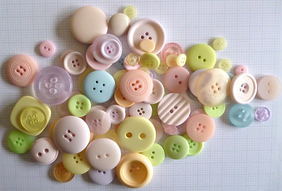 Buttons By Weight :: Pastel