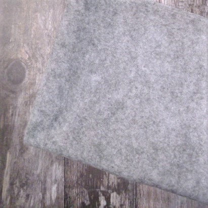 Acrylic Heathered Felt :: 45cm x 100cm :: Grey