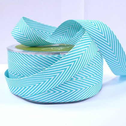 Wide Twill Ribbon :: Turquoise