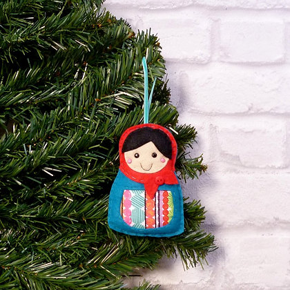 Russian Doll (Traditional) Christmas Decoration Kit