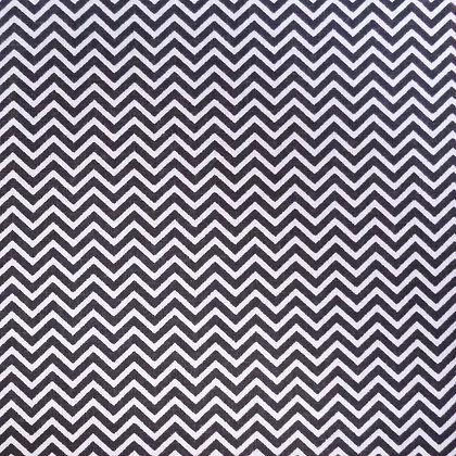 Fabric :: Wide :: Mini Chevron Black