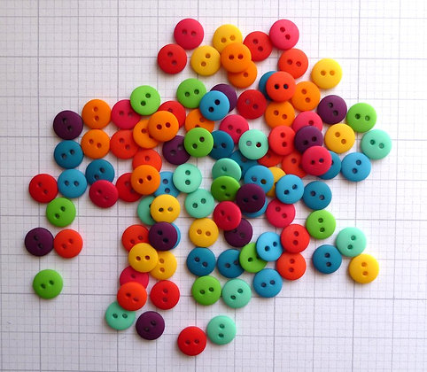 Teeny Tiny Buttons Mix Pack  :: BRIGHTS