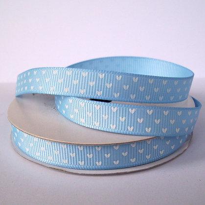 5yd Spools :: Blue & Hearts