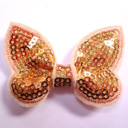 Sparkle Bow :: Butterfly :: Gold