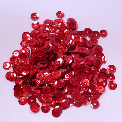 Tiny Sequins (5mm) :: Red