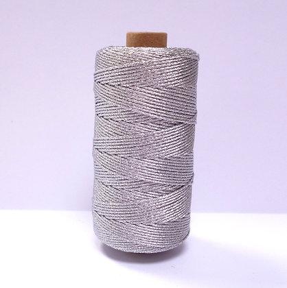 Metallic Rope Twine :: 100m :: Silver