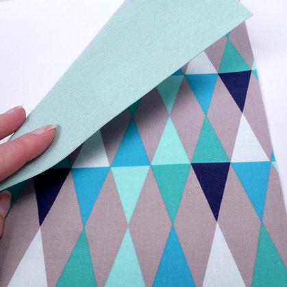 Fabric Felt :: Blue Diamond & Ice Blue