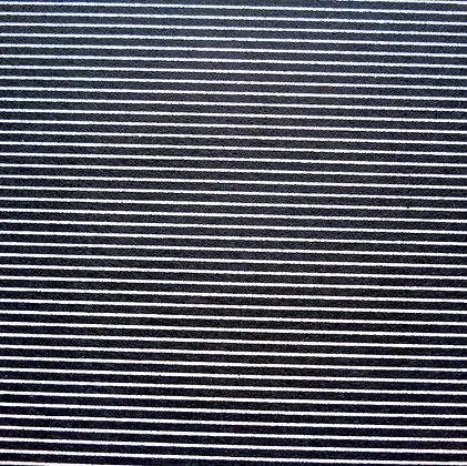 Stripe Felt Square :: BLACK