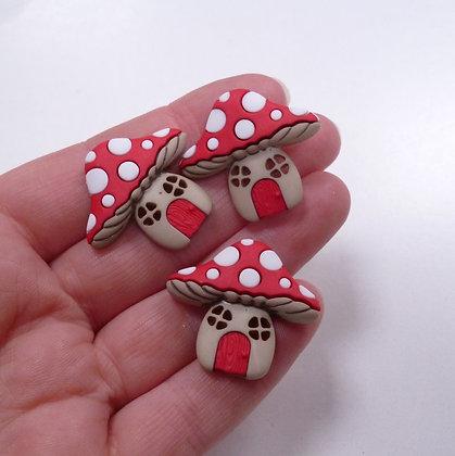 Fantastic Button Packs :: Mushroom Houses