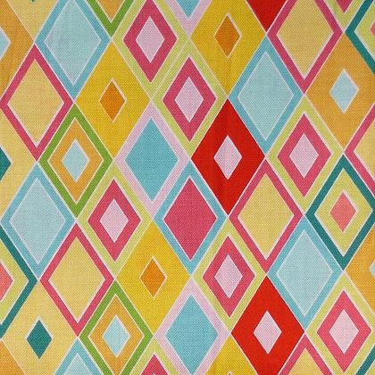 Fabric :: Madhuri  :: Blue Diamonds