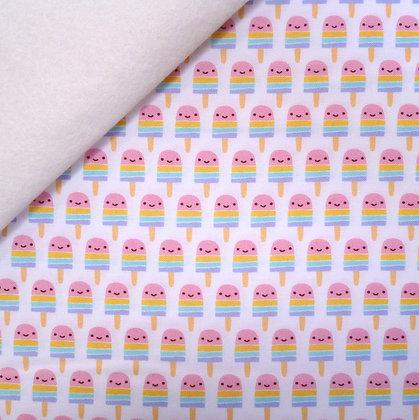 Fabric Felt :: Suzy's Minis :: Cute Pastel Lollipops on Natural
