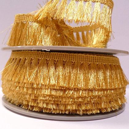 Metallic Tassel Fringe :: Yellow Gold