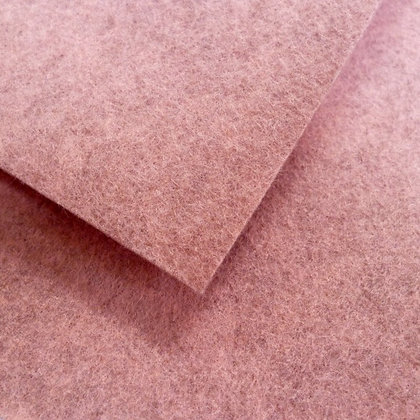 Dog Rose - Heathered Felt - cut from the roll