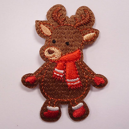 Embroidered Motif :: Wrap Up Warm :: Reindeer