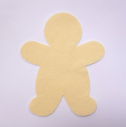 Die Cut :: Gingerbread Man :: Vanilla