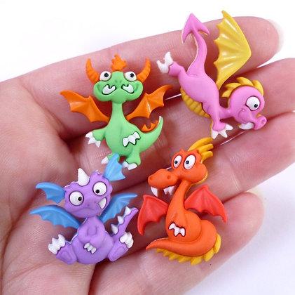 Fantastic Button Packs :: Dragon Tale