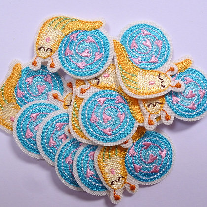 Embroidered Motif :: Snail