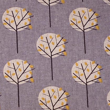 Fabric :: Cotton Linen :: Scandi Trees