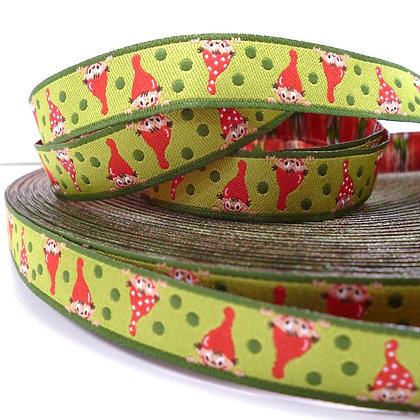 Embroidered Ribbon :: Cheeky Gnome