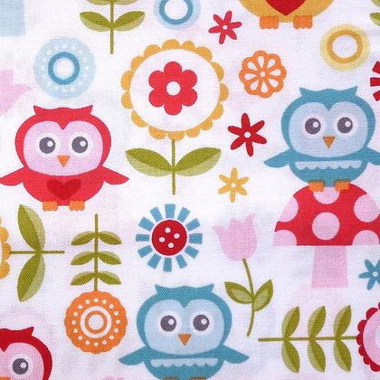 Fabric :: Fine & Dandy :: Owls