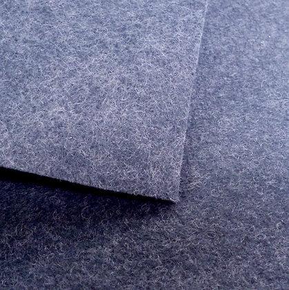 Slate - Heathered Felt - mini roll