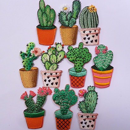 Embroidered Motif :: Cactus