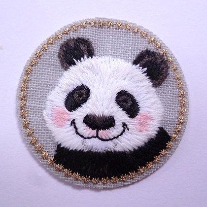 Embroidered Motif :: Panda